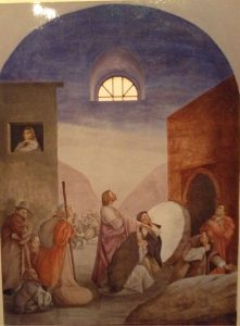 Resurrezione di Lazzaro, Madonna del Frassine