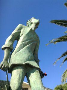 l'uomo che salva il mare, Talani