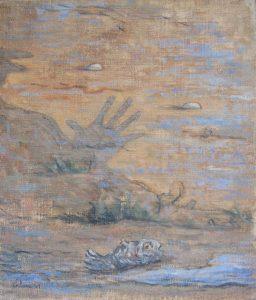 L'ombra la mano il pesce
